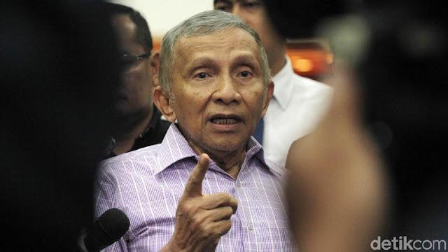 Siap Penuhi Panggilan Polisi, Amien juga Akan Bongkar Kasus di KPK