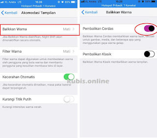 Cara Mengaktifkan Fitur Dark Mode iPhone 6