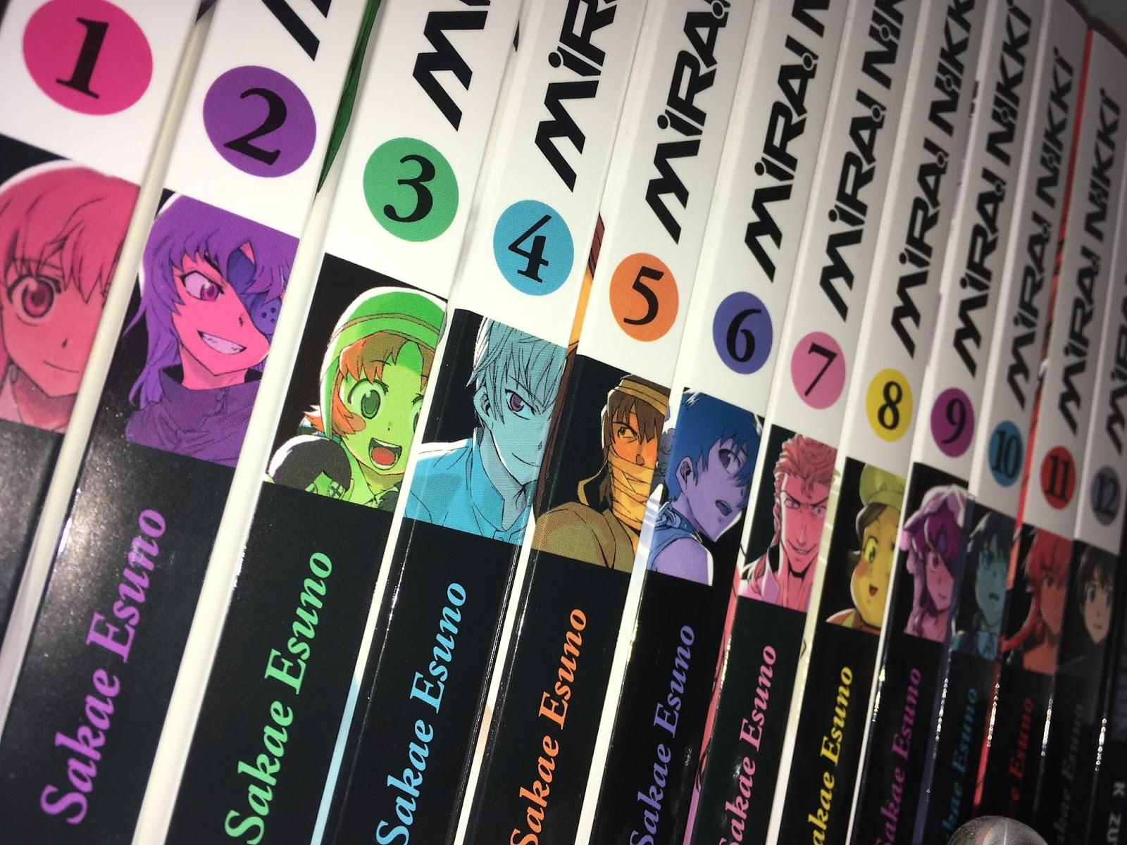 Review zum Manga Mirai Nikki (Egmont Ehapa)