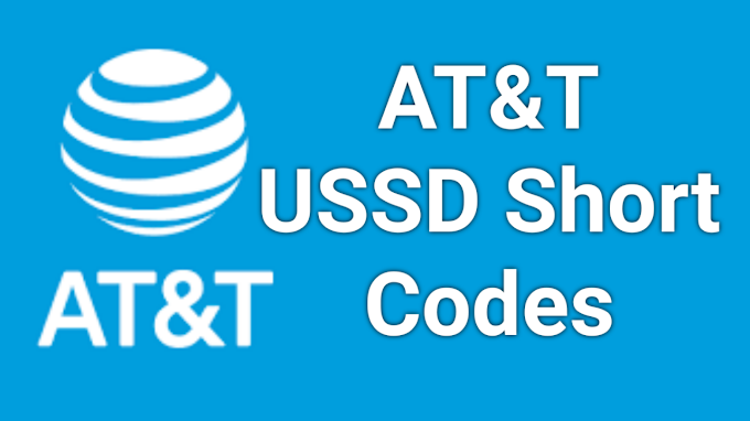 AT&T Short Codes  2021