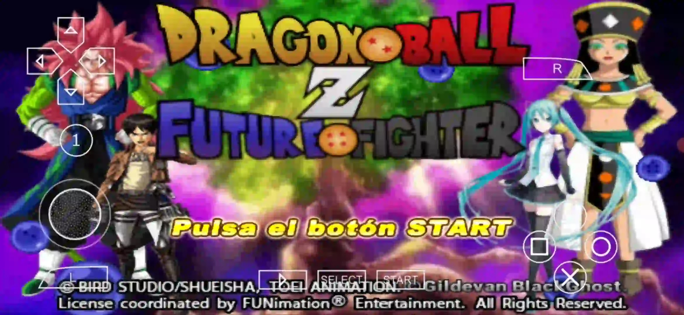 PSP Dragon Ball Z game for android