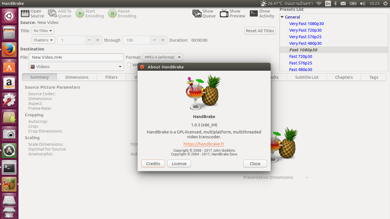 How to install program on Ubuntu: How to Install HandBrake 1 0 3 on