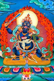 Bodhisattva Manjushri Negro