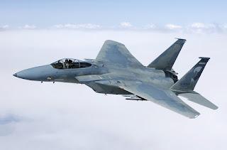 Jet Tempur F-15 AU AS