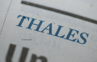 action Thales dividende exercice 2020