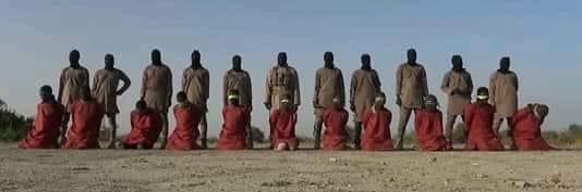 داعش يعلن عن ذبح 11 شهيدا من مسيحيين نيجيريا.. شاهد التفاصيل كاملة