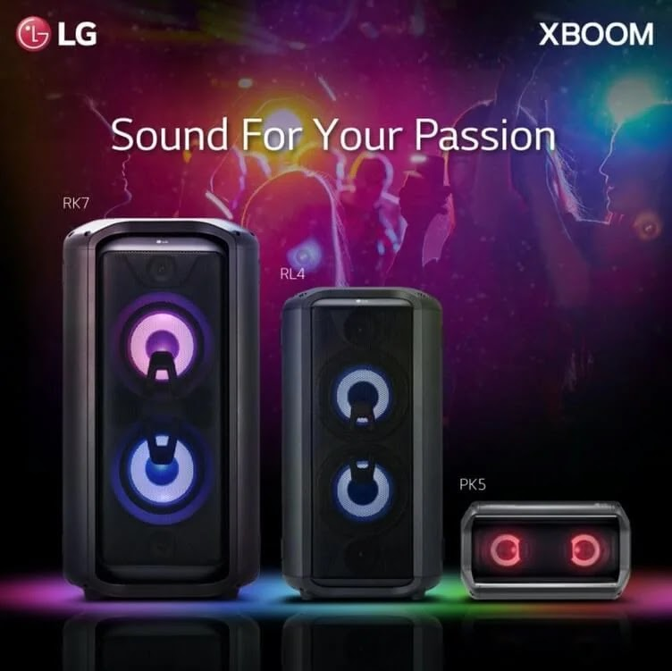 Work and Play at Home with LG XBoom Portable Speakers