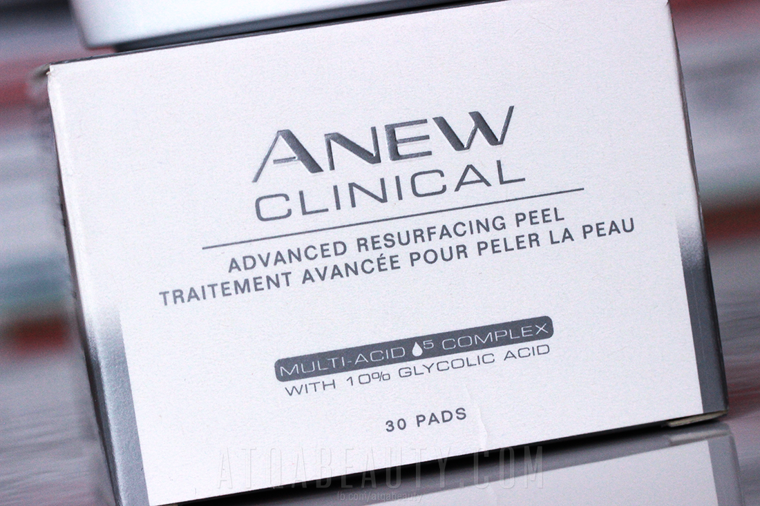 Anew Clinical Advanced Resurfacing Peel with-10% glycolic acid