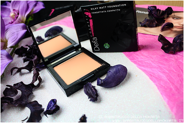 003 Silky Matt Foundations Defa Cosmetics Fondotinta vegan  review