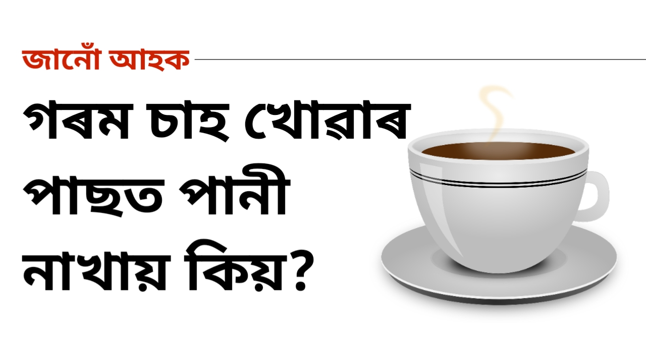 Facts about tea in Assamese Language
