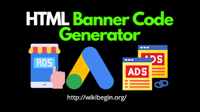 HTML Banner Ad Code Generator