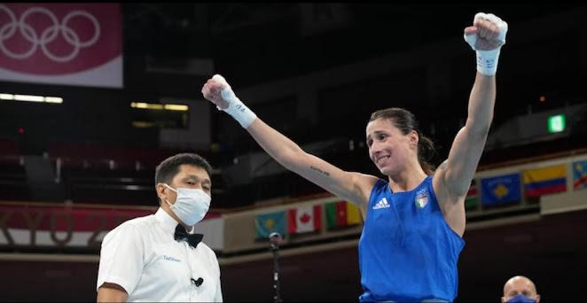 Irma Testa ha vinto il bronzo nella gara di pesi piuma (57 kg)