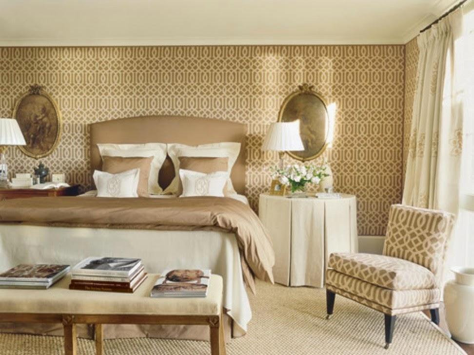 Dormitorios decorados color beige ideas para decorar - Paredes para dormitorios ...