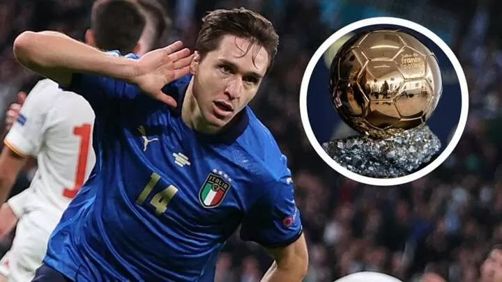 Chiesa tipped for Ballon d'Or win in next 'three or four years'