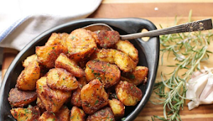 The Best Crispy Roast Potatoes Ever Recipe #Dinner #Easyrecipe