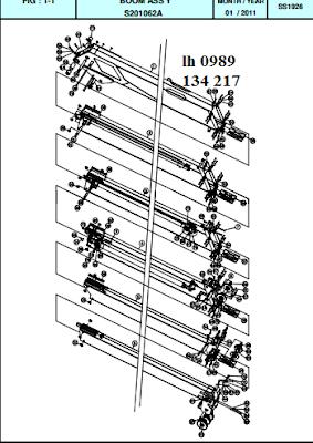 Đốt cần cẩu thủy lực Dong Yang SS1924-SS1926