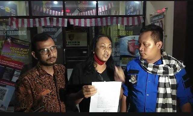 Hina Profesi Wartawan, Akun FB Momo Dhio Alief Dipolisikan