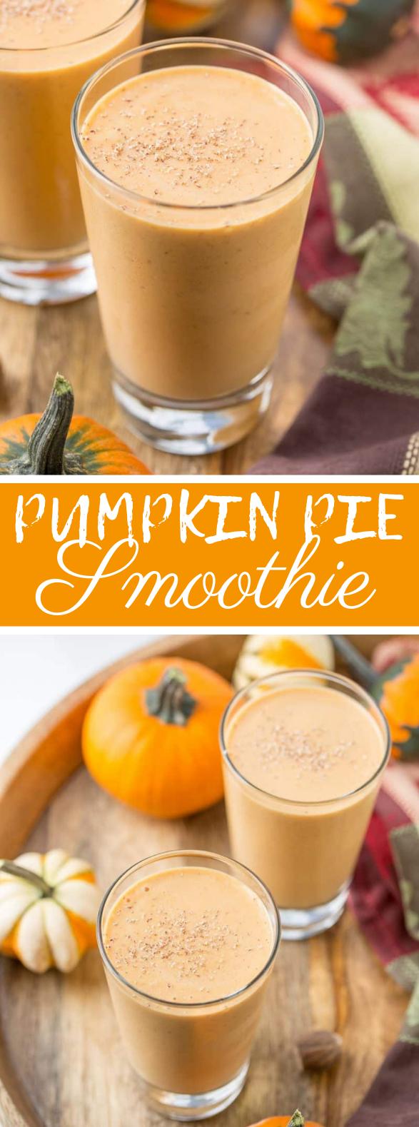 Pumpkin Pie Smoothie #drinks #goodie