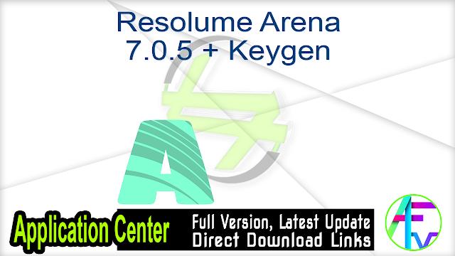 Resolume Arena 7.0.5 + Keygen
