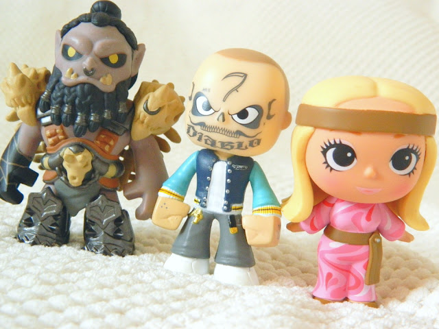 Toys for a Pound Funko Mystery Minis: Barbie, Suicide Squid and Warcraft