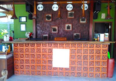 Lobby Mola-Mola Resort, DHM Partners di Gili Air Lombok