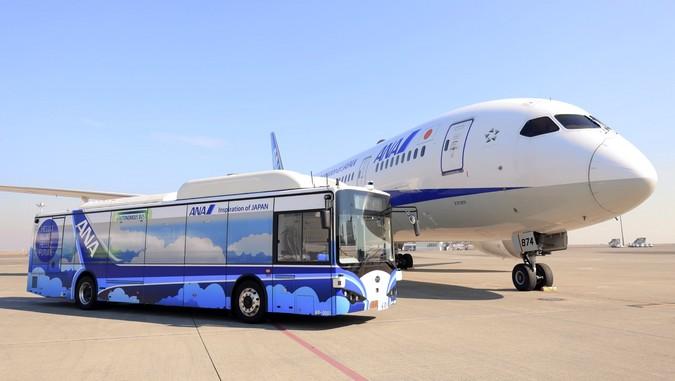 BYD conclui testes com ônibus autônomo em Aeroporto Internacional no Japão