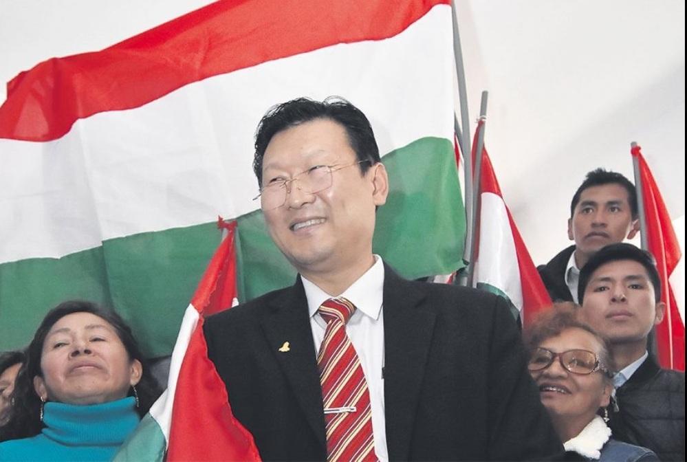 Chi Hyung Chung, un outsider de la política que llegó a salvar la sigla del PDC / EL DEBER