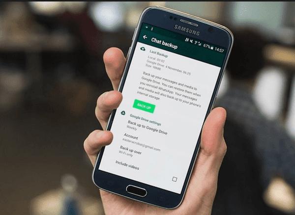 كيفية نقل رسائل الواتس اب من الايفون إلى الاندرويد
