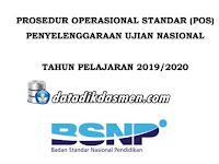 ( REVISI JANUARI 2020 ) POS UN Jenjang SMP, SMA & SMK Tahun 2019/ 2020