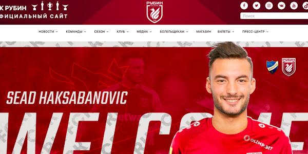 Oficial: Rubin Kazan, firma Haksabanovic