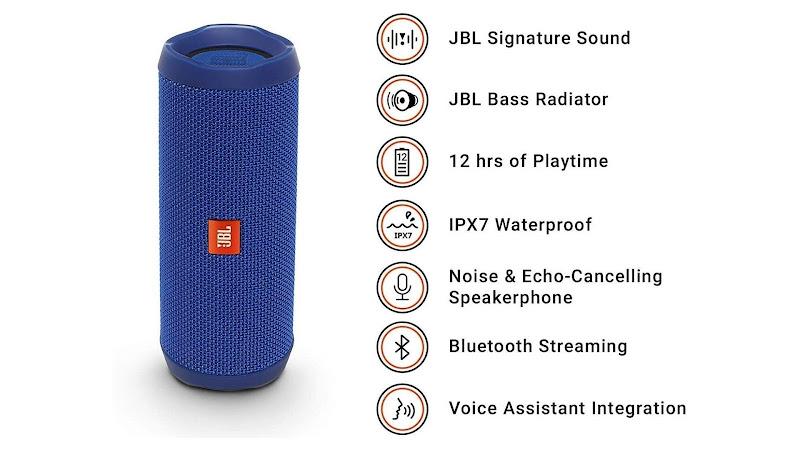 Main features of JBL Flip 4 Speaker