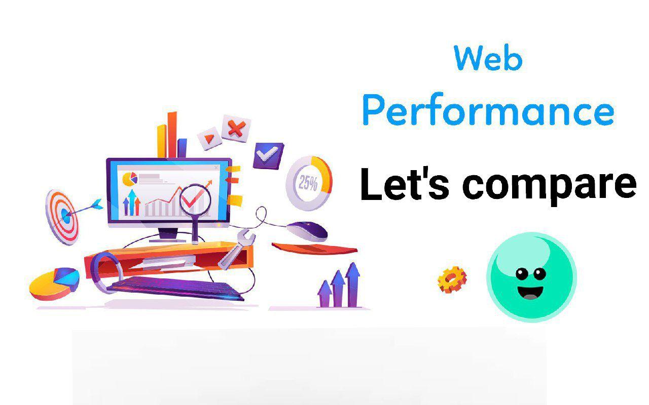 Web performance comparison