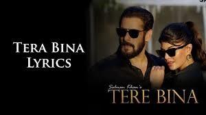 Tere Bina Lyrics in English :- Salman Khan | Jacqueline Fernandez