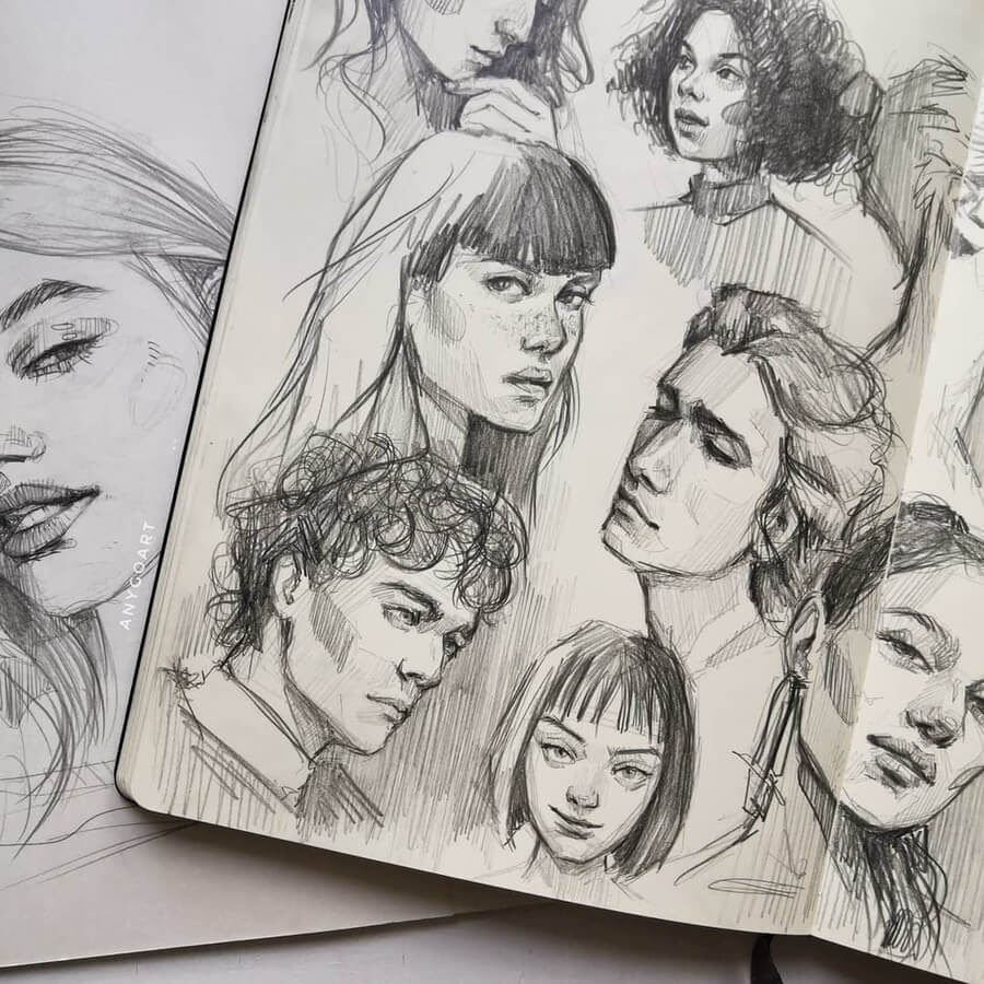 05-Drawing-studies-1-Anya-Goart-www-designstack-co