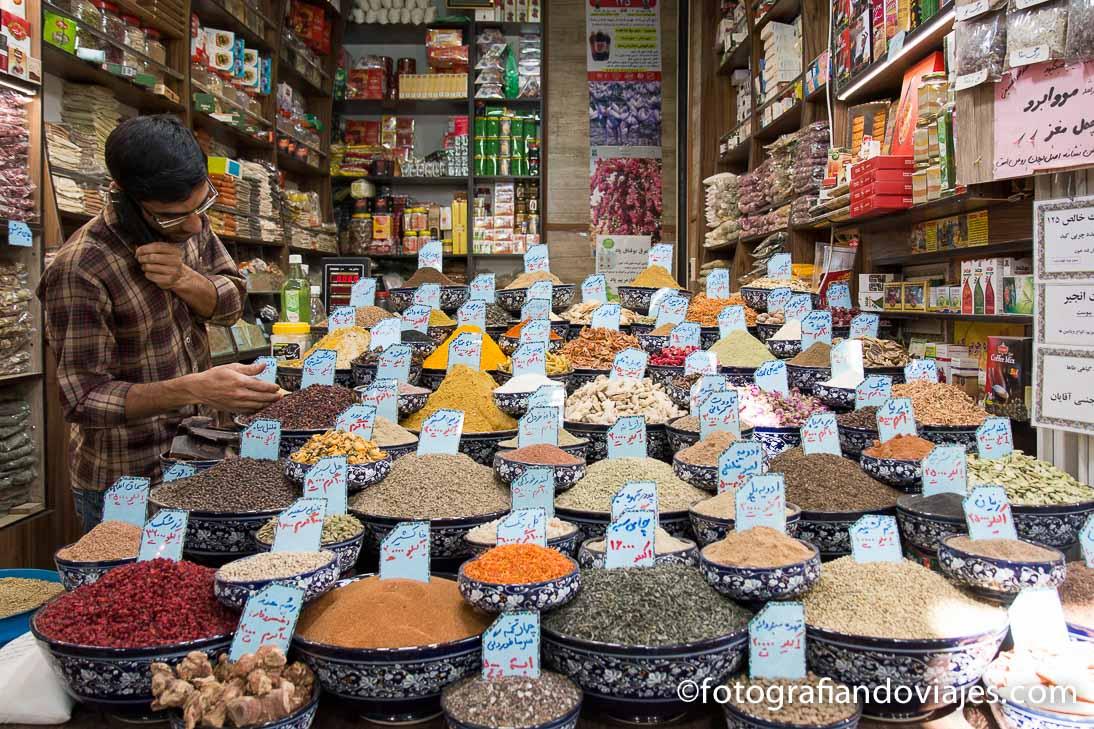 Bazar Vakil en Shiraz
