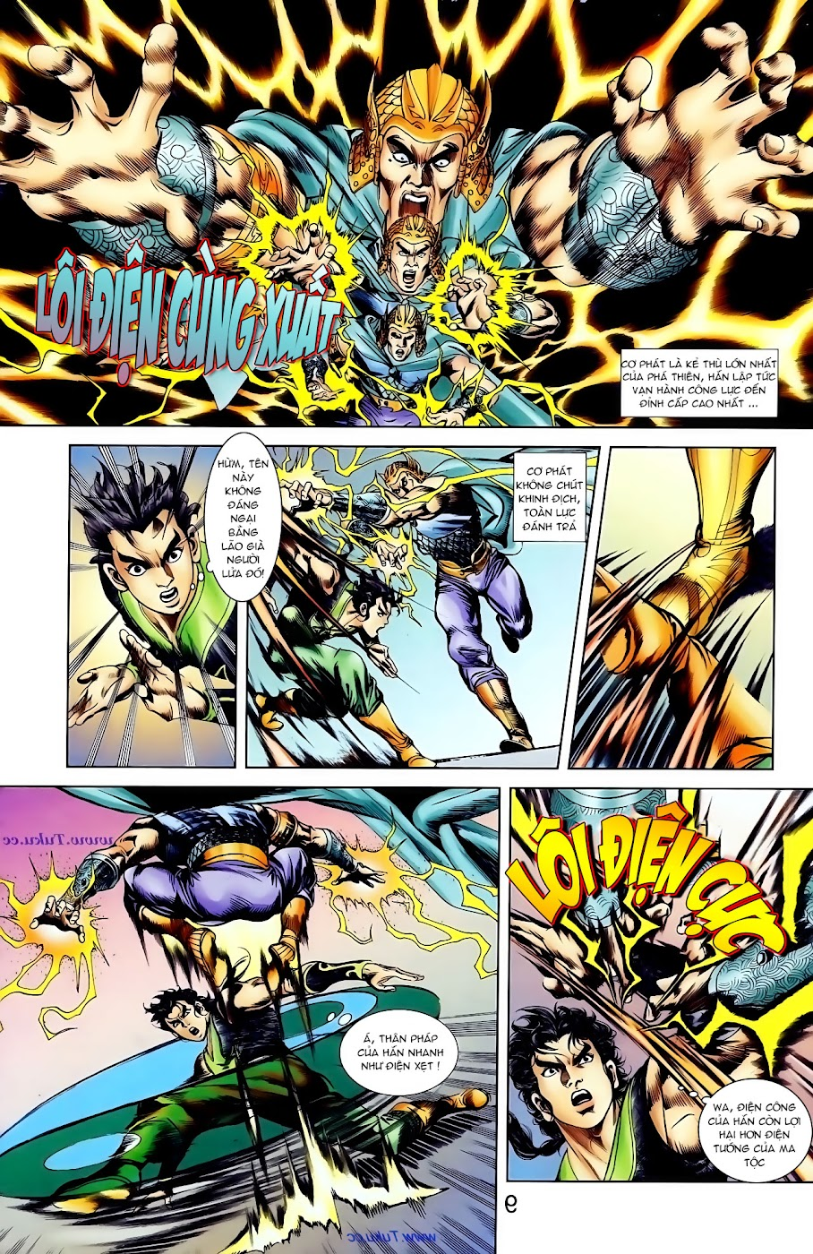 Cơ Phát Khai Chu Bản chapter 99 trang 3