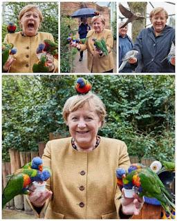 سيدة ألمانيا أنجيلا ميركل ما أعظمها من امرأة :