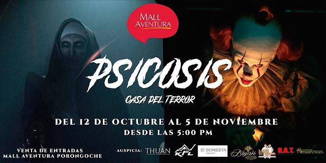 Psicosis La Casa del Terror, Arequipa