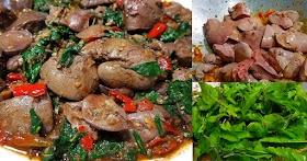 สูตรผัดกะเพราตับไก่ ตับนุ่ม ไม่คาว เผ็ดร้อนหอมอร่อย ทำง่ายมากๆ