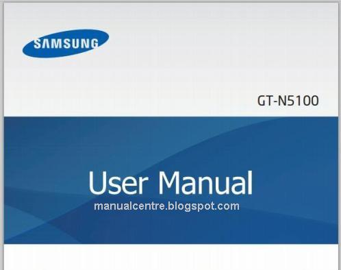 Samsung Galaxy Note 8 Manual Cover