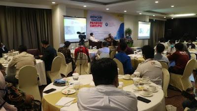 HESTEK Gelar Diskusi Bertajuk Mencari Vaksin Pandemi Korupsi