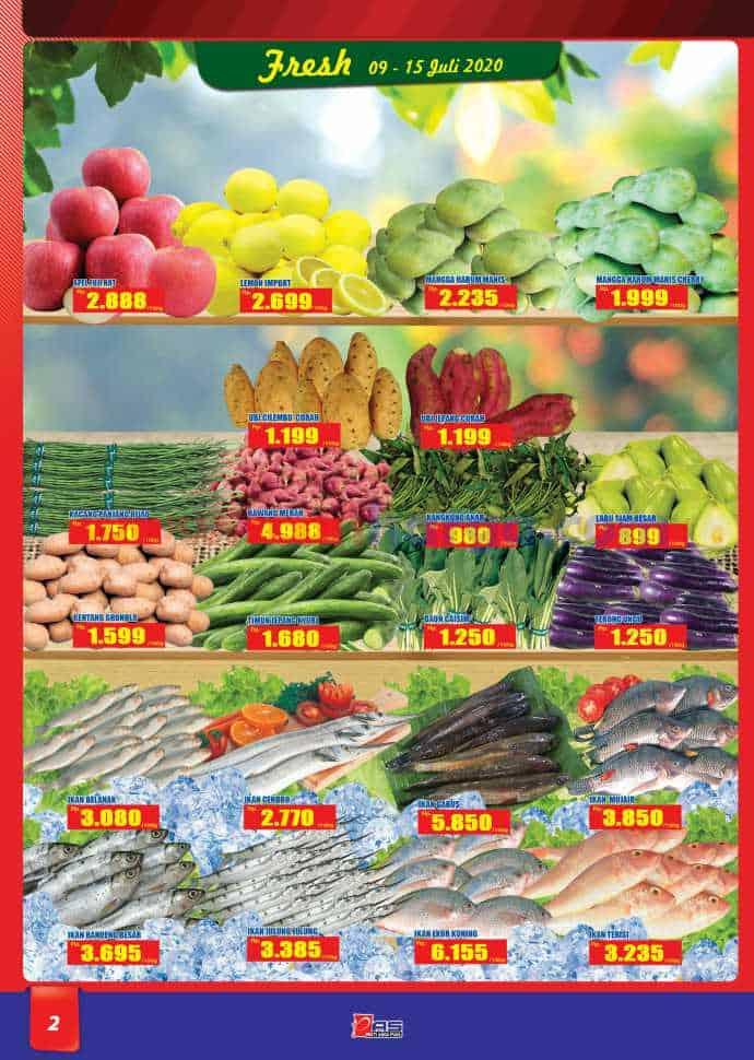 Katalog Promo Hari Hari Pasar Swalayan 9 - 22 Juli 2020 2