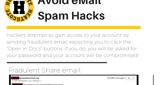 In light of this latest GMail phishing scam...