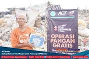 ACT Jember Berbagi Ratusan Paket Pangan Untuk Pemulung di TPA Jember