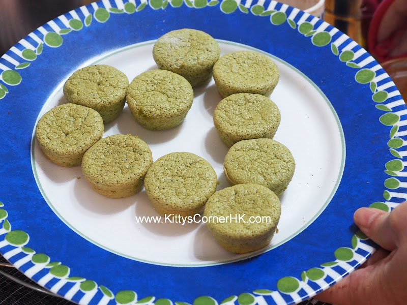 Light Green Tea Cake DIY recipe 輕盈綠茶蛋糕 自家烘焙食譜