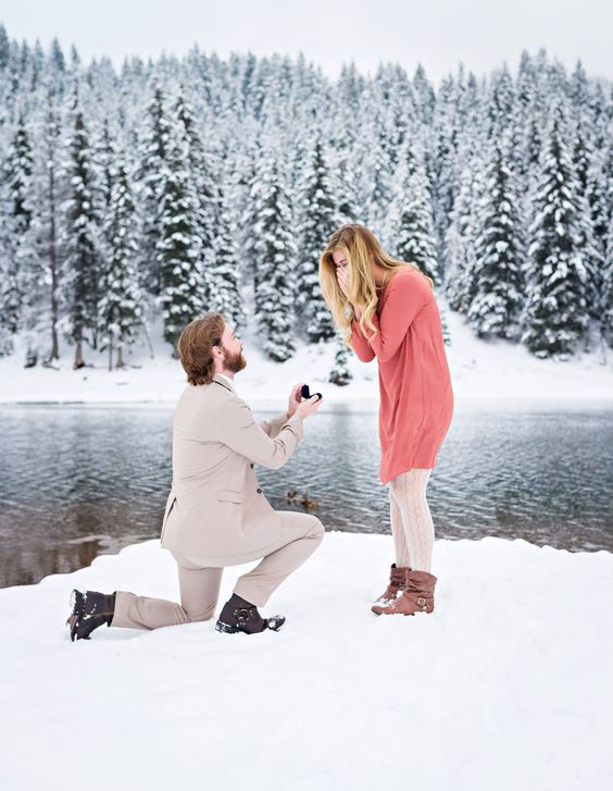 Winter Romantic Time to Propose-1