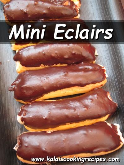 mini eclairs