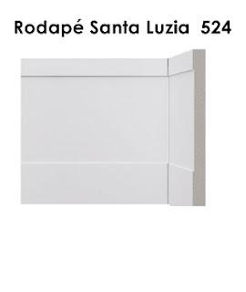 Rodapé Branco na Vila Leopoldina