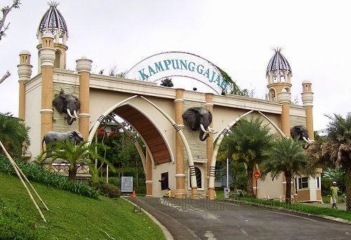 Keindahan Wisata di Kampung Gajah Bandung