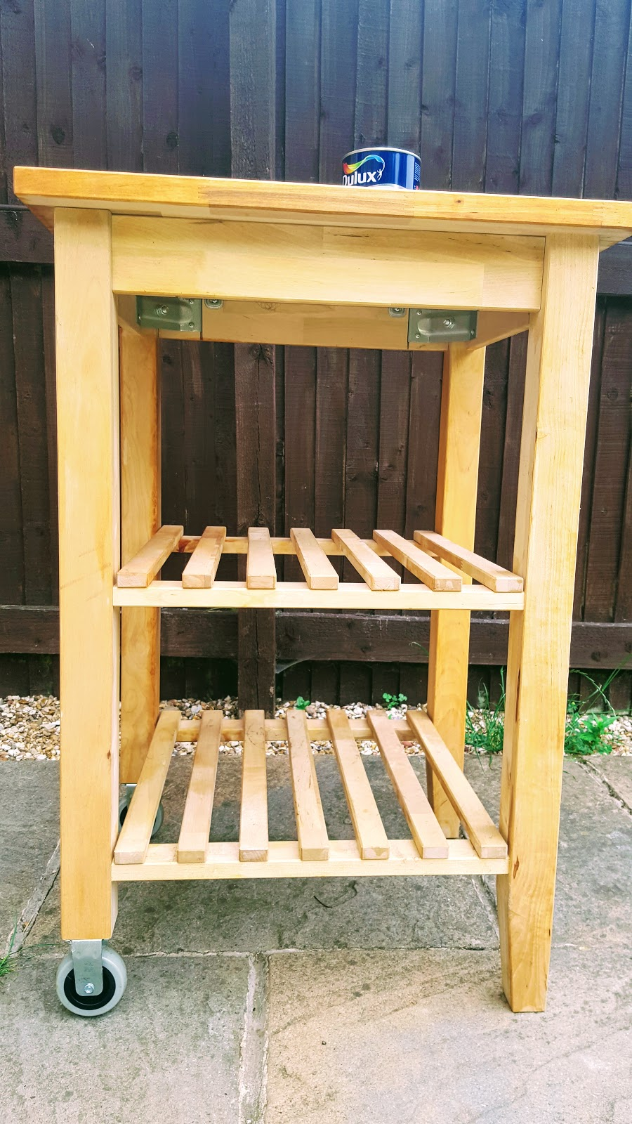 IKEA Kitchen Trolley Up-cycled